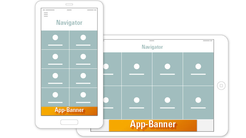 App banners